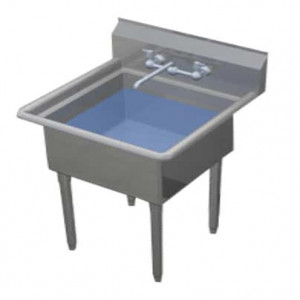 Duke Manufacturing One Compartment Sink 201S-NDB