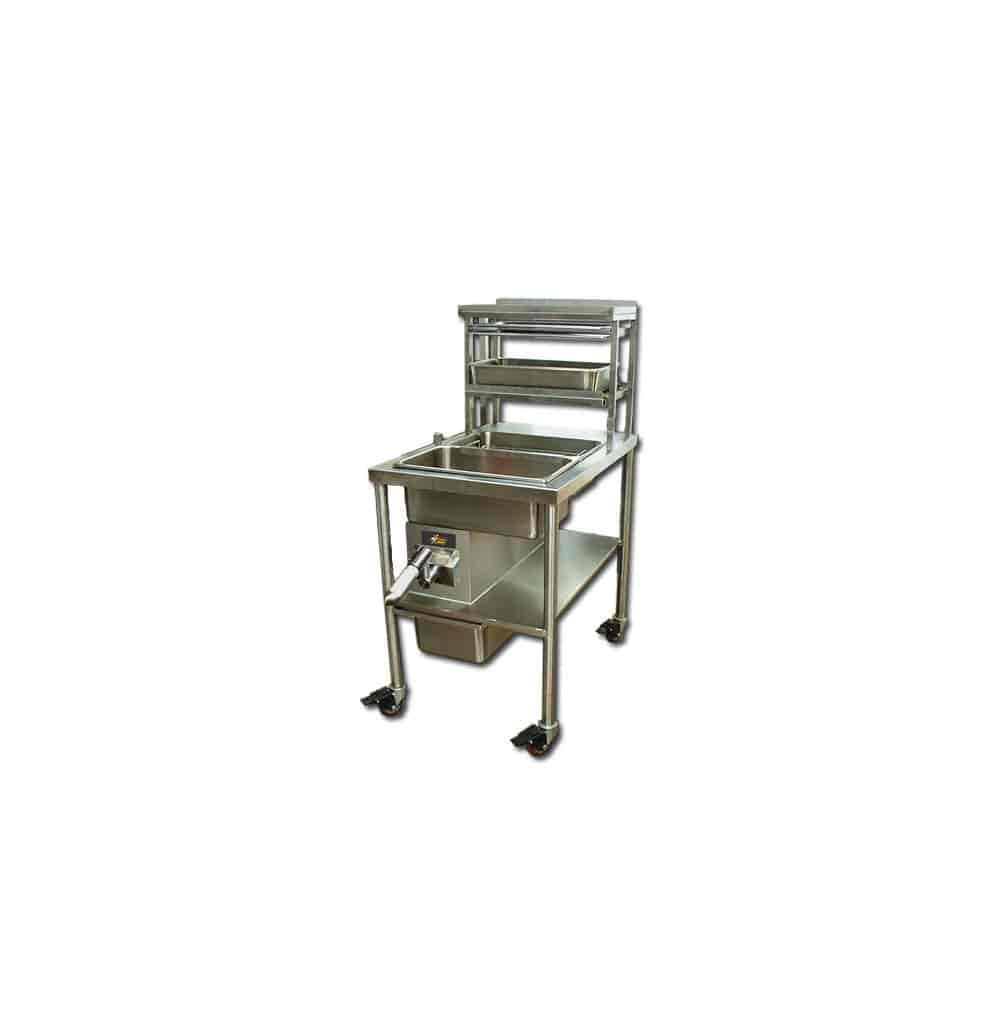 PFSbrands BBS-M-L3625 breading table, hot food program equipment