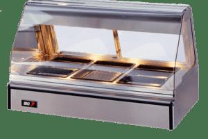 BKI WDCG-3T Display Case, hot food program equipment